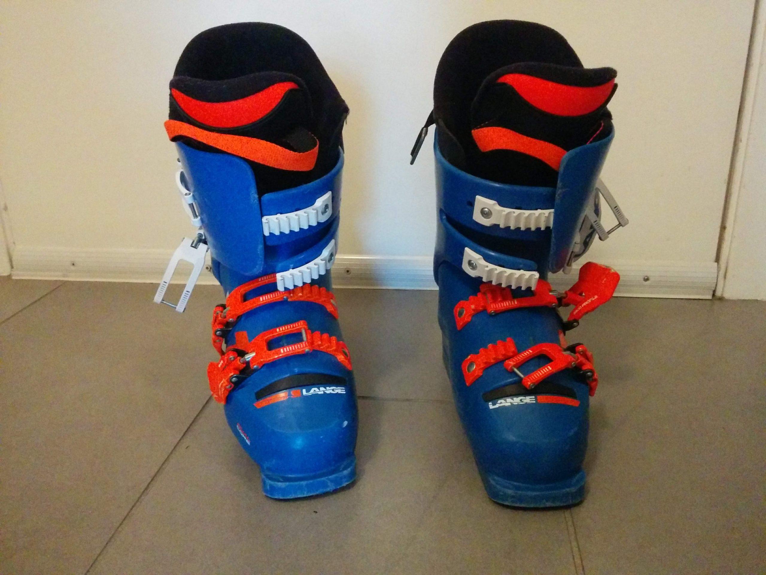 Lange RS70 S.C. size 23.5 racing ski boots