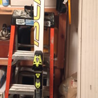 183 fisher WC GS skis $170