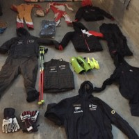 Team Canada Spyder DH suits (new), Team Canada Jackets, snow pants (Athletes & Coach), and much more